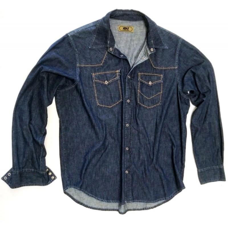 arrives 010e5 c60fd CA 7650 Camicia Jeans
